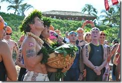 Hawaiian ceremonial blessing