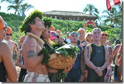 Hawaiian ceremonial blessing